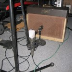 2 mics on the Gibby amp (1957)