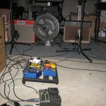 pedal rig in the shot