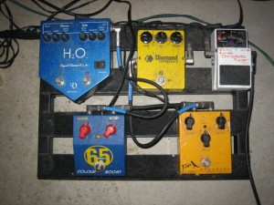 closeup of the pedals